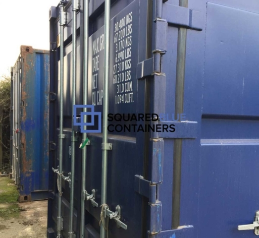 Blue 20ft container