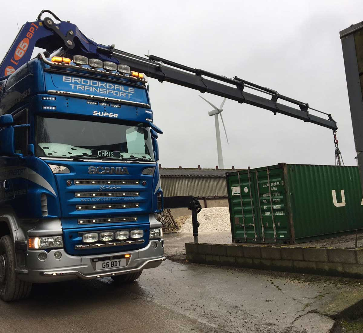 20ft container delivery
