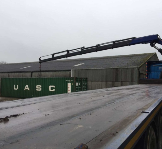 40ft container transport