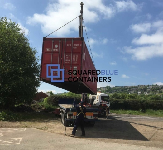 Deliver a 40ft container