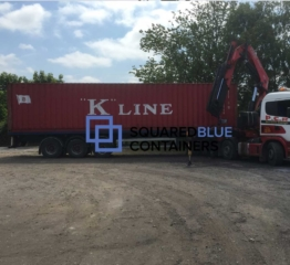 Shipping container deliveries