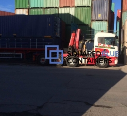 Storage container delivery